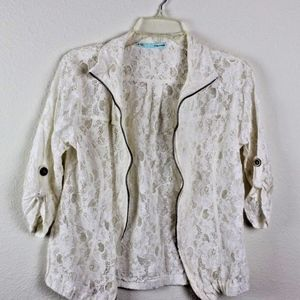 Maurices Jackets & Coats - 💘 Maurices Women's Lace Zip-Up Moto Boho Jacket